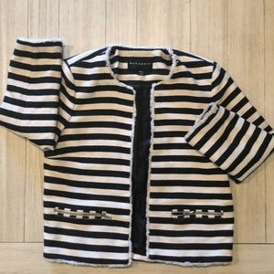 Casual striped jacket